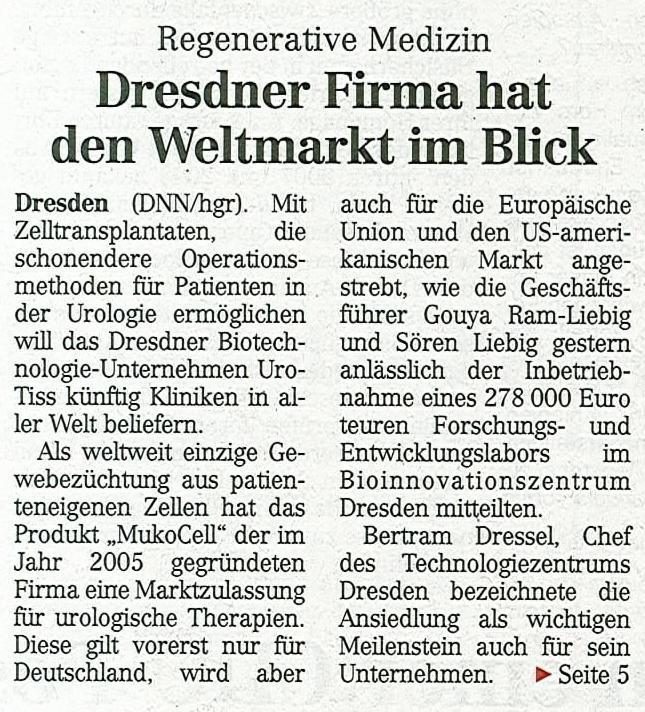 Hightech aus Dresden für die Welt