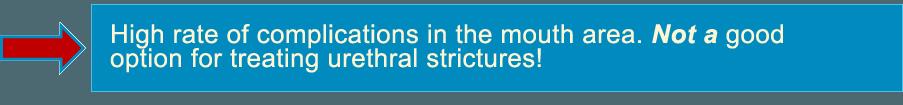 treatment urethral stricture
